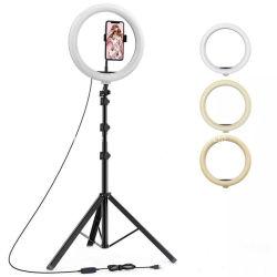 150LED 아름다움 Portable 6 8 Inc 사진 스튜디오 충분한 양 빛 메이크업 사진 빛 살아있는 Webcast Selfie LED 반지 빛