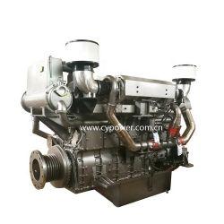 Diesel van de verplaatsing 32.8L Met water gekoelde Binnenwaartse Mariene Motor met de Versnellingsbak van de Vooruitgang