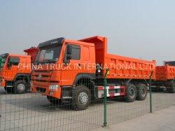 Для тяжелого режима работы Sinotruk 6X4 гидравлического цилиндра заднего Самосвал /самосвал грузовики для продажи