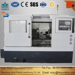 China Fornecedor de processamento de ferramentas de metal inclinado Tornos CNC de cama para venda