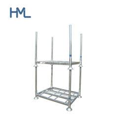 Entreposto Industrial Pesado Empilhamento Palete de Aço Galvanizado Equipamento racks