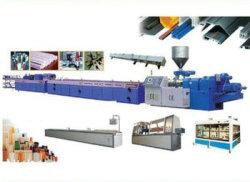Le bois plastique profil composite de ligne d'Extrusion, WPC Composite de profil