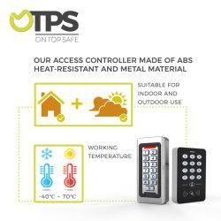 13.56MHz RFID 접근 제한 키패드 근접 125kHz Em ID 전자 자물쇠를 위한 중요한 바지의 시계 주머니 NFC 카드 꼬리표 관제사