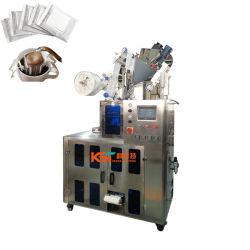 KST-181 Prezzo di fabbrica automatico ridotto guarnizione ultrasonica interna ed esterna Sacchetto gocciolamento caffè in polvere riempimento gocciolamento tè sacchetto polvere verticale Macchina per imballaggio