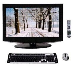 """19 """" 1のPCの1つのTV/PC (Intel原子CPU)のタッチ画面すべてのすべて"""