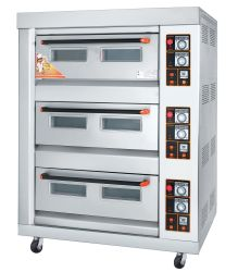 피자 요리를 위한 경제 유형 가스 굽기 오븐 등등 Rfl 36c