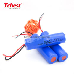 L'IFR18650 3.2V 1500mAh 3.2V LiFePO4 18650 cylindrique 1500mAh Batterie Li-ion rechargeable