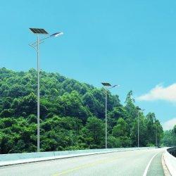 Venta caliente IP65, gran cantidad de lúmenes Bridgelux LED 60W Lámpara de luz solar calle 12V