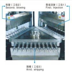 PE/PP/HDPE LDPE/inyección de plástico moldeado por soplado Máquina de botella