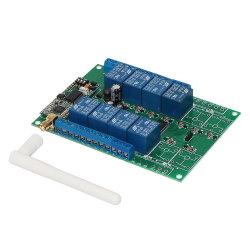 433MHz con 8 canales de RF Universal el interruptor de iluminación personalizados de larga distancia Mando a distancia