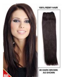 16 pollici di tessuto di -28inches Yaki - estensione indiana dei capelli di Remy