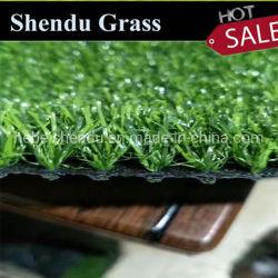China Factory barato 35cm Paisagem em relva artificial Fake Tapete de grama