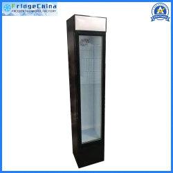 105Lは飲料のクーラーのステンレス鋼のキャビネットのフリーザーの冷凍装置を細くする