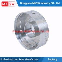 CNC che lavora la lega alla macchina di alluminio non standard delle parti di metallo con il tornio automatico