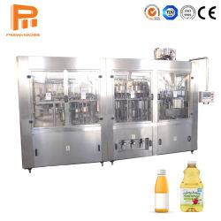 Het Vruchtesap die van de Pulp van Zhangjiagang Auto het Vullen van het Sap van de Fles Machine vullen