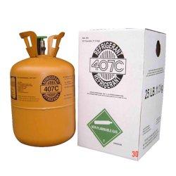 Gas Refrigerant R407c del Freon di vendita della fabbrica in cilindro a gettare