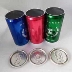 180ml 200ml 250ml 330 ml 500 ml de boisson en aluminium de canettes de boissons emballage