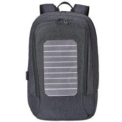 BSCI usine de Port de chargement USB étanche de gros frais de voyage l'énergie solaire Sac à dos pour ordinateur portable (RS-1906)