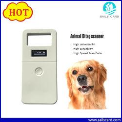 134,2 kHz/125kHz RFID Animal Ear Tag Scanner/Reader
