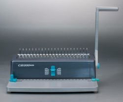 20 ورقة ماكينة ربط المشط اليدوي المشط اليدوي Office Plastic الأقوى CB280