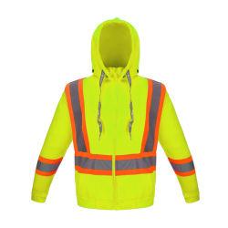 Gilet de sécurité réfléchissant Hi Viz veste polaire polaire haute visibilité Sweat-shirt