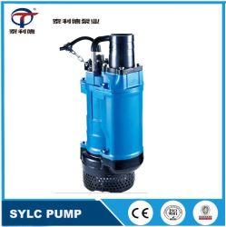 Aleación de cromo de alta eléctrica vertical sólido de gran tamaño de partículas de lodo bombas sumergibles Aguas Residuales de deshidratación de la bomba de agua
