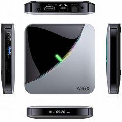 Новые продукты A95xf3 воздушный Smart 9.0 4 ГБ оперативной памяти 64Гб диск 32 ГБ 2 ГБ загрузить Руководство пользователя для телевизора в салоне Android
