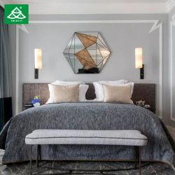 Zeitgenössisches Hotel-Möbel-Laminat-feuerfestes Panel-Hotel-Schlafzimmer-Set