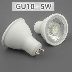 높은 광도 LED 전구 램프 5W LED GU10 전구
