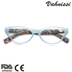 Пластиковые модели храм Cat очки Reader очки рамы для женщин