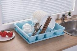 Plat en rack de séchage de grandes drainer - le plateau égouttoir, ustensile de cuisine et de porte-gobelet inclus