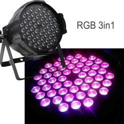 段階の照明54*9W RGB 3in1 LED同価ライト