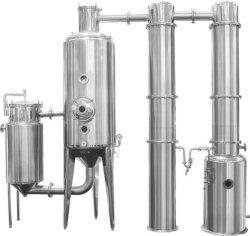 Concentrateur de récupération de l'alcool Multiple-Effect vide