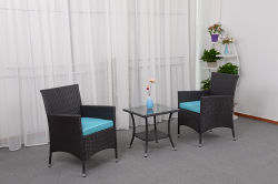 Mode d'Osier en rotin Météo Jardin meubles de jardin Fauteuil canapé et table à manger