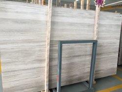 Hölzerner weißer Marmorplatte-Stein