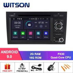 [ويتسن] [أندرويد] 9.0 سيارة [فيديو بلر] لأنّ [أودي] [أ4] 2002-2008 راديو [غبس] تكنولوجيا الوسائط المتعدّدة