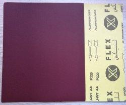 230*280мм красный водонепроницаемый абразивной бумаги Sheet-Latex опорной наждачной бумаги листов