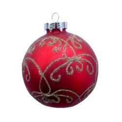 Вручную Рождество стекла шарик на Рождество висящих дерева, рождественские украшения, Рождество стеклянная колба
