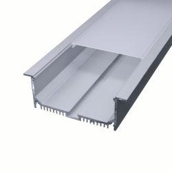 高い発電天井またはPendentライトのための引込められたLEDのアルミニウムチャネルまたはプロフィールLED棒ライト