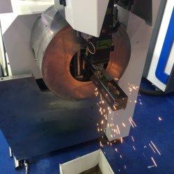 1000W de Scherpe Machine van de Buis van de Laser van de vezel, CNC die Vierkante Buis, Ronde Buis, de Buis van het Roestvrij staal machinaal bewerkt