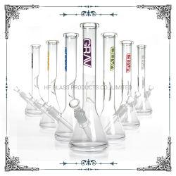 Grav vidrio de 12 pulgadas el hábito de fumar pipa de agua del tubo de vaso con hielo Catcher Wholesale