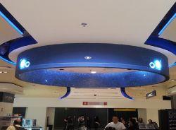 P2 P3 P2.5 Rideau LED écran LED programmable Location Courbe pleine couleur LED flexible de modules d'affichage