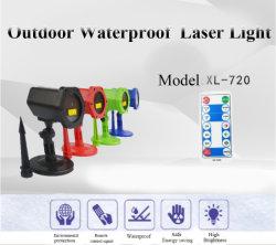 Decorações de Natal Parte Barato Mini-Carregamento Solar Luz Laser
