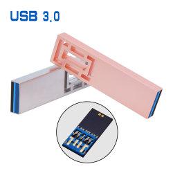 USBのフラッシュ駆動機構3.0はロゴ高速駆動機構128GB 64GB 32GB 16GB 8GB USB Pendriveをカスタマイズする
