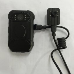 HD 1296p Portable La vision de nuit de la caméra vidéo Organe de surveillance de la police de l'enregistreur caméra usés