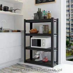 Vier Regal-Büro-Möbel-Metallstahlschrank-Speicher