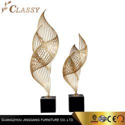 En acier inoxydable moderne Art Craft sculpture pour la décoration de l'hôtel