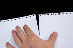 CB BFC CF Département compte ordinateur feuille de papier autocopiant