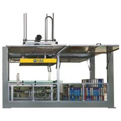 Full Auto Spray Aérosol Depalletizer Machine vide