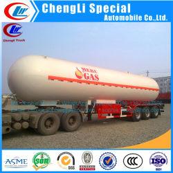 Chengli 56cbm LPG Becken Selbst-Propan-halb Schlussteil LPG-Schlussteil-Tanker des LPG-Gas-Schlussteil-25ton, der Schlussteil kocht